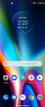 Home screen, general settings, recent apps, notification shade - Motorola Moto G 5G Plus  review