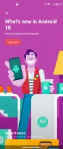 Moto features - Motorola Moto G 5G Plus  review