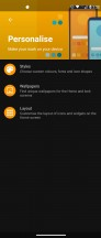 Customizable themes - Motorola Moto G 5G Plus  review