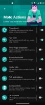 Moto Actions - Motorola Moto G 5G Plus  review