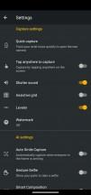 Camera menus - Motorola Moto G Pro review