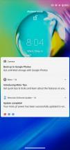 Lockscreen - Motorola Moto G8 Power review