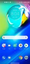 Homescreen - Motorola Moto G8 Power review