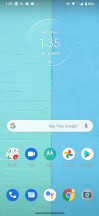 Homescreen - Motorola One Fusion Plus review