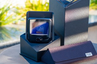 Retail package - Motorola Razr 5G hands-on review