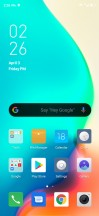 Home screen, recent apps, notification shade and Settings menu - nubia Red Magic 5G review
