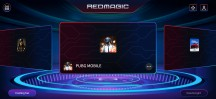 Game Space 2.1 home screen - nubia Red Magic 5G review