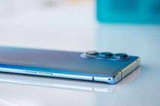 Volume controls on the left - Oppo Reno4 Pro 5G review