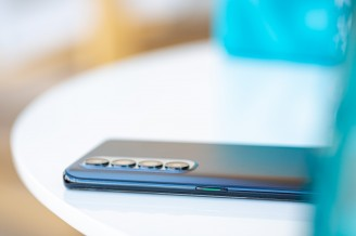 Power button on the right - Oppo Reno4 Pro review