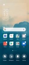Homescreen settings - Oppo Reno4 Pro review