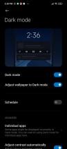 Dark Mode - Poco X3 NFC review