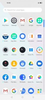 Realme UI under Android 10