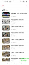 Video app behavior at 120Hz setting - Realme 7 5G review