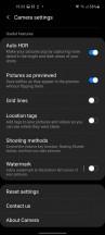 Camera app - Samsung Galaxy A21s review