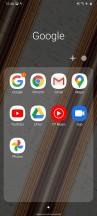 Folder view - Samsung Galaxy A31 review