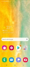 Homescreen - Samsung Galaxy A41 review