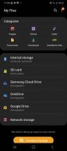 File explorer - Samsung Galaxy A41 review