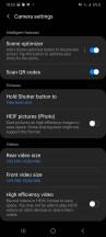 Camera app - Samsung Galaxy A41 review