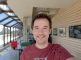 Selfie portrait samples - f/2.2, ISO 50, 1/120s - Samsung Galaxy A51 5G review