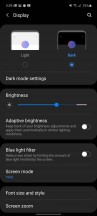 System-wide dark mode - Samsung Galaxy A51 5G review