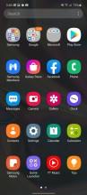 App drawer - Samsung Galaxy A51 5G review