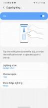 Edge screen - Samsung Galaxy A51 5G review