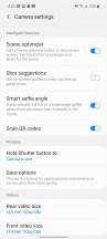 Camera UI - Samsung Galaxy A51 5G review
