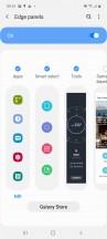 Edge screen - Samsung Galaxy A71 review
