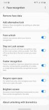 Biometrics - Samsung Galaxy M51 review
