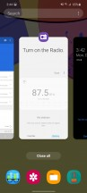 Task switcher - Samsung Galaxy M51 review