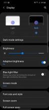 Dark mode - Samsung Galaxy M51 review