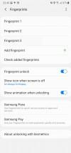Biometrics - Samsung Galaxy Note20 Ultra 5G review