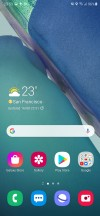 Homescreen - Samsung Galaxy Note20 Ultra 5G review