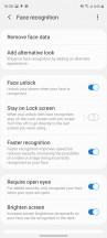 Biometrics - Samsung Galaxy S20 FE 5G review
