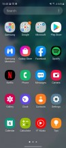 App drawer - Samsung Galaxy S20 FE 5G review