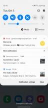 Notification shade - Samsung Galaxy S20 FE 5G review