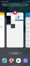 Task switcher - Samsung Galaxy S20 FE 5G review