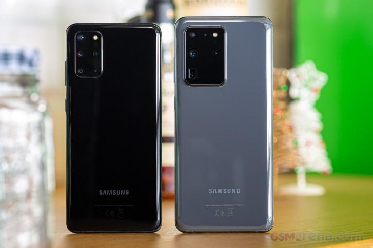 Samsung Galaxy S20+ review - GSMArena.com tests