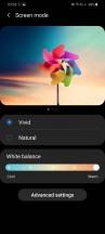 Display settings - Samsung Galaxy S20 Ultra Long Term review