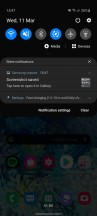 Home, launched, dark mode and new power button in toggles - Samsung Galaxy S20 review