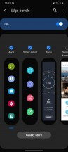 Edge screen - Samsung Galaxy S20 review
