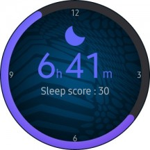 Drop-down menu and widgets - Samsung Galaxy Watch3 review