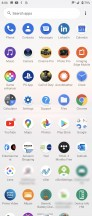 App drawer - Sony Xperia 1 II review