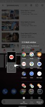 Side sense menu - Sony Xperia 1 II review