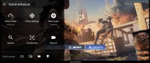 Game Enhancer, in-game features - Sony Xperia 1 II review