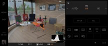 Photo Pro interface - Sony Xperia 1 II review