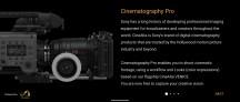 Cinema Pro app UI - Sony Xperia 1 II review