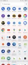 App drawer - Sony Xperia 5 II review