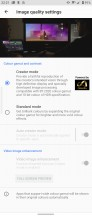 Display settings - Sony Xperia 5 II review