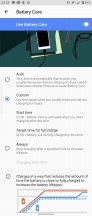 Battery settings - Sony Xperia 5 II review